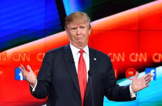 «Il est de bonne guerre pour un outsider de s'affranchir du système qu'il entend dénoncer, tout en en bénéficiant. Mais le magnat de l'immobilier a poussé au paroxysme cette posture de contestation absolue.» Photo prise à Las Vegas, dans le Nevada, le 15 décembre 2015.