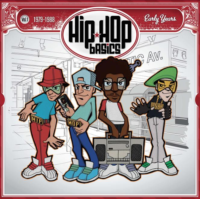 Pochette de l'album « Hip Hop Basics (1979-2015) ».
