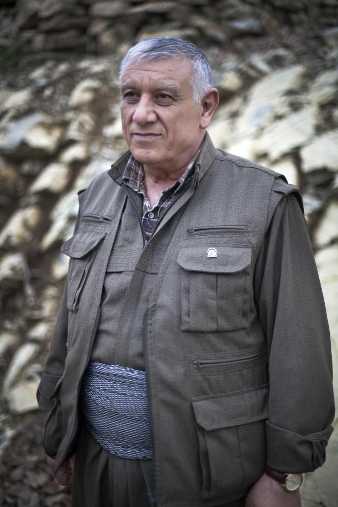 Cemil Bayik, un des cinq fondateurs du PKK, en décembre 2014.