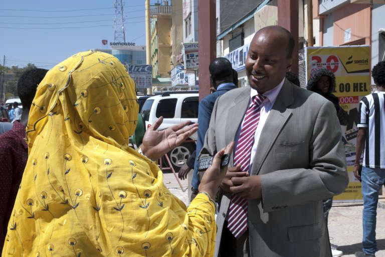 Abdirashid Duale, le patron de Dahabshiil, à Hargeisa en décembre 2015.