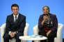 La ministre de la justicen, Christiane Taubira, et Manuel Valls, à l'Elysée, le 23 décembre.