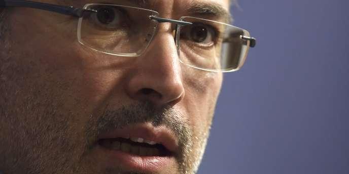 L'ancien magnat russe Mikhaïl Khodorkovski prononce un discours à Chatham House dans le centre de Londres, en Grande-Bretagne, le 26 février 2015.