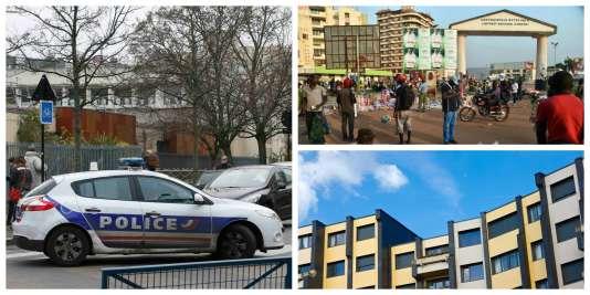 Montpellier, Bangui, immeuble en France.