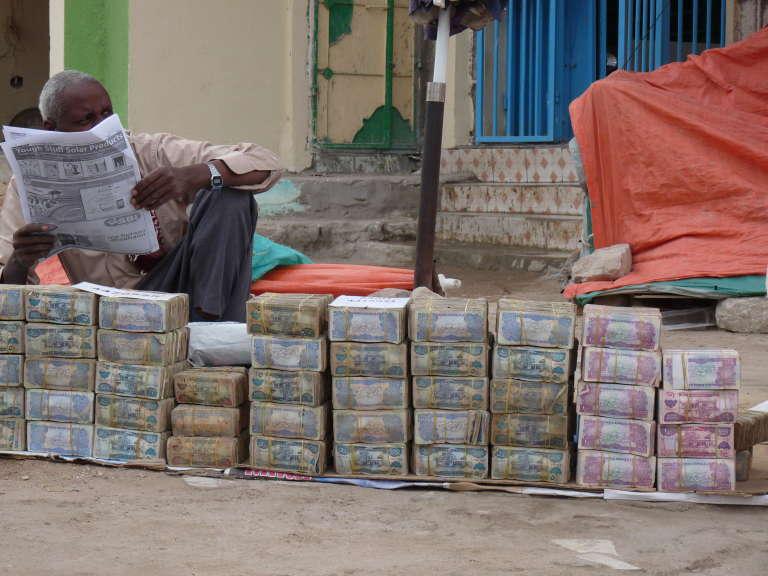 Dans une rue d'Hargeisa, en 2013.