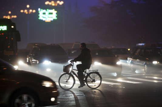 Dans la province de Hebei, le 23 décembre.