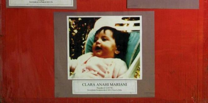 La photo de Clara Anahi diffusée dans le cadre des recherches pendant 36 ans.
