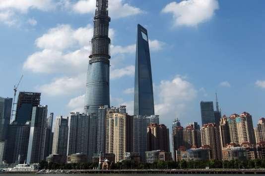 Avec ses 632 mètres, la tour de Shanghaï est le bâtiment le plus haut de Chine.