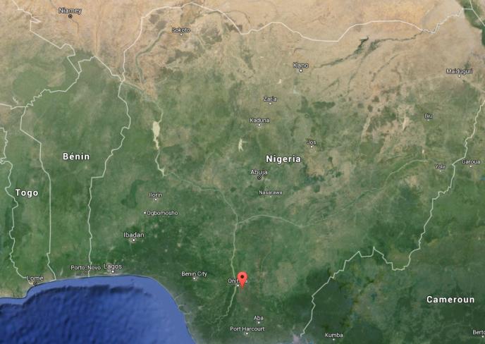 La ville de Nnewi, dans le sud-est du Nigeria.