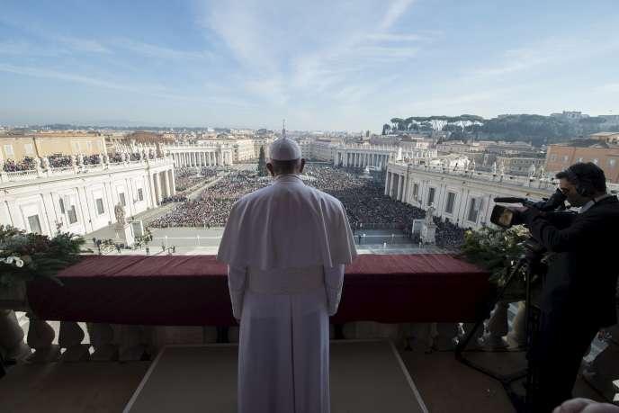Au Vatican le 25 décembre.