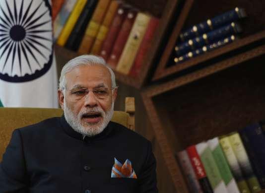 Le chef du gouvernement indien, Narendra Modi, à Kaboul dans la matinée du 25 décembre.