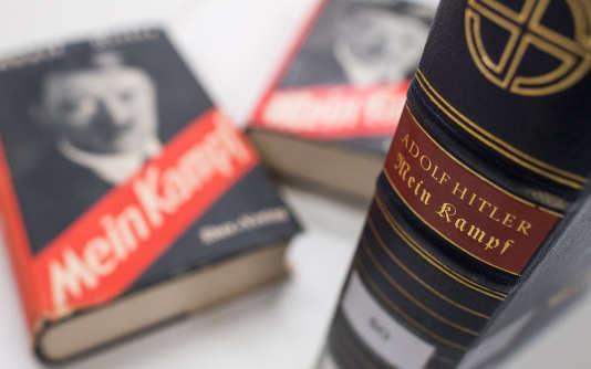 Le 1er janvier 2016, les droits d'auteur de « Mein Kampf » (« Mon combat »), le pamphlet antisémite d'Adolf Hitler, sont tombés dans le domaine public.