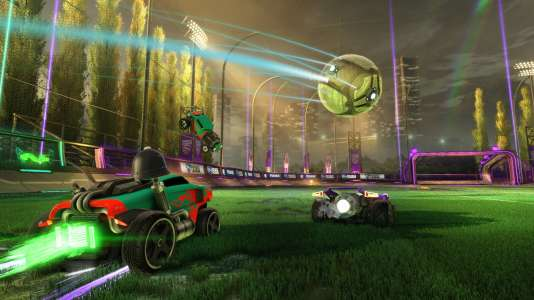 A contre-pied des jeux narratifs, Rocket League propose du football-voitures, simple et régressif.
