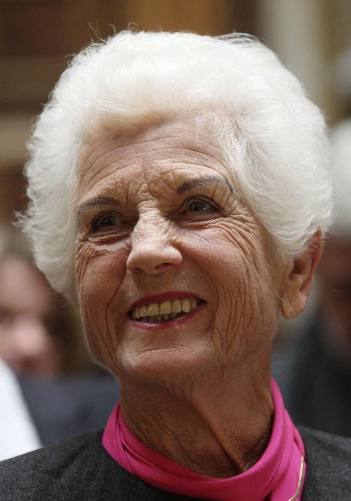 Freda Meissner-Blau, en novembre 2011.