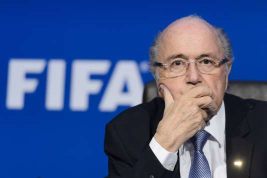 L'ex-président de la FIFA, Sepp Blatter, en juillet 2015.