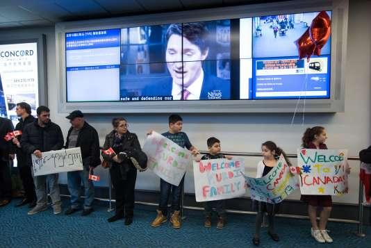 A l'aéroport de Vancouver, le 28 décembre.