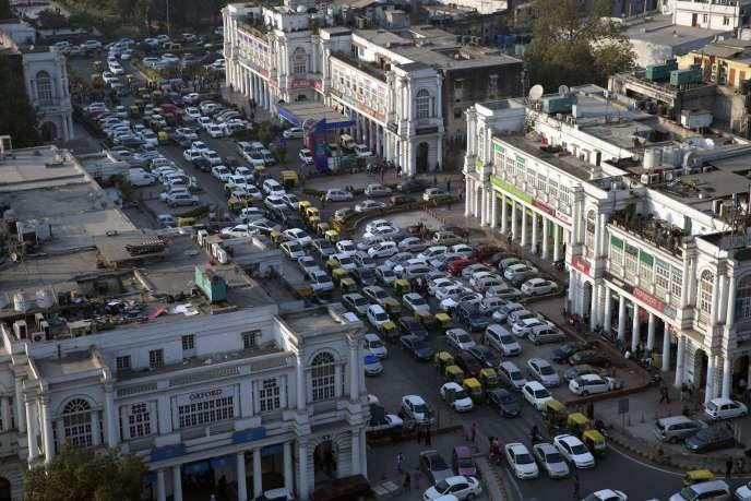 A New Delhi, en décembre 2015.