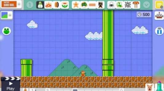 Super Mario Maker permet de créer des niveaux pour la série Super Mario Bros., trente ans après la sortie de son épisode fondateur.