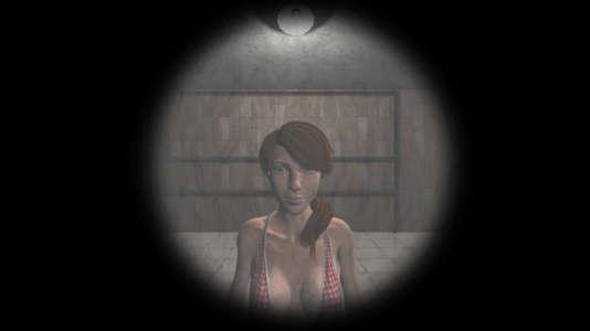 Dans Gynophobia, les femmes sont représentées comme des objets interdits ou des monstres fantasmagoriques à éliminer.