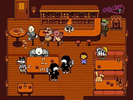 Undertale, le jeu vidéo où le joueur n'a d'autres amis que les monstres qu'il combat.