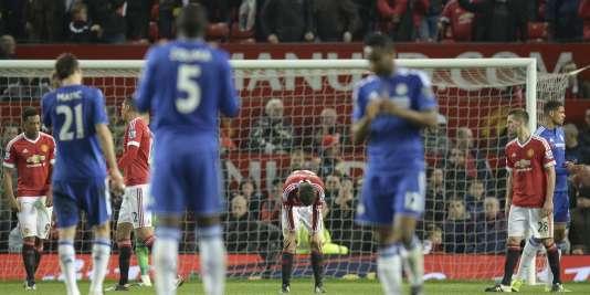 Chelsea et Manchester United se sont séparés sur un match nul, le 28 décembre