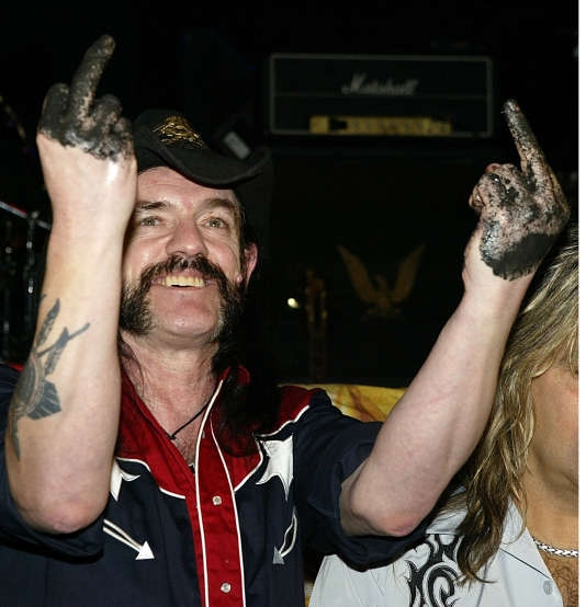 Lemmy Kilmister à Hollywood en septembre 2003.