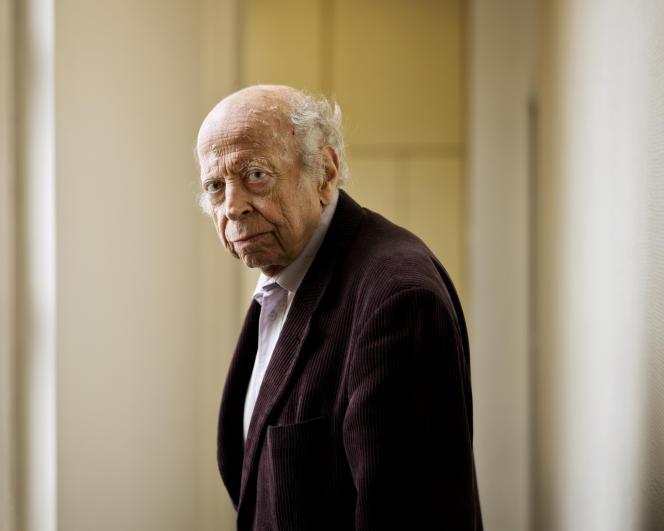 Pierre Hassner, en 2015.