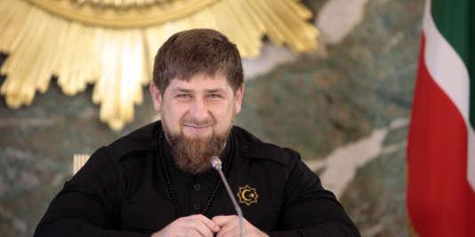 Ramzan Kadyrov, le 28 décembre 2015.