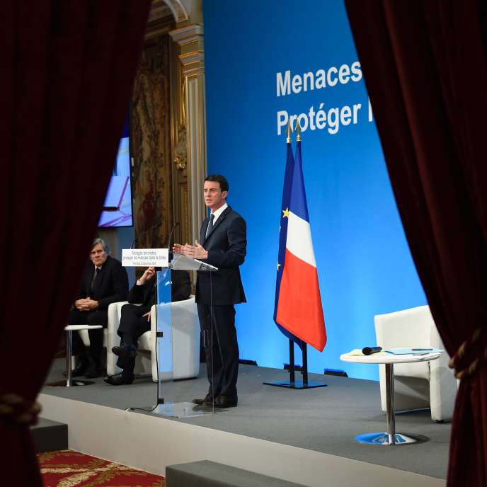 Manuel Valls à l'Elysée le 23 décembre.