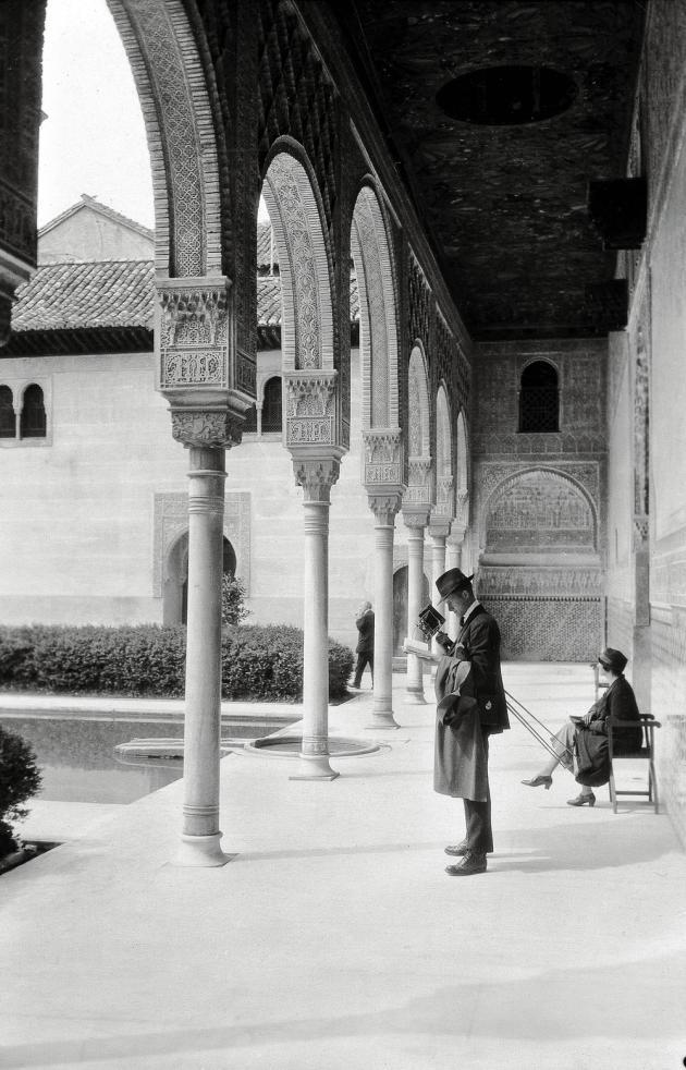 L'Alhambra de Grenade, Espagne,1929.