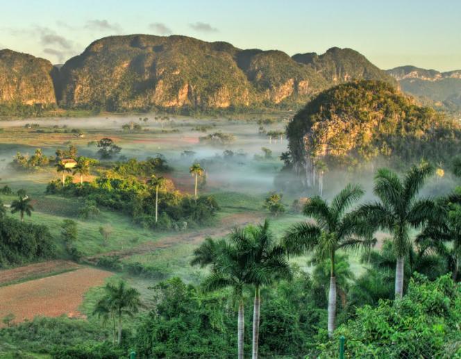 La Vallée de Viñales, à Cuba, inscrite au patrimoine de l'Unesco