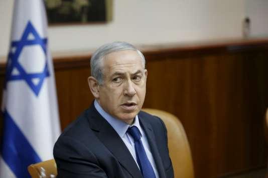 Benyamin Nétanyahou à Jérusalem le 13 décembre 2015.