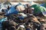 Le 28 décembre 2015. Plus de 2.500 migrants attendent un abri à Grande-Synthe.
