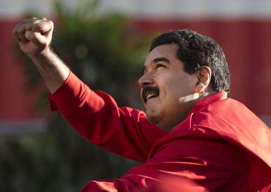 Nicolas Maduro, le 1erdécembre à Caracas.