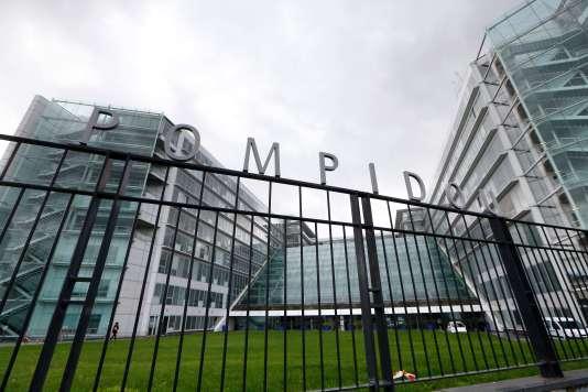 L'hôpital Pompidou le 7 novembre.
