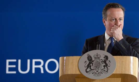 David Cameron, le 26juin2015 à Bruxelles.