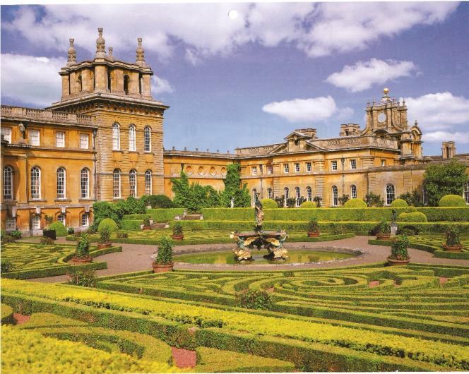 Le jardin de Bleinheim Palace, en Angleterre.