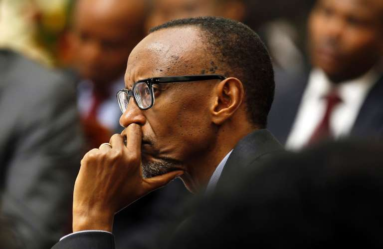 Le chef de l'Etat rwandais, Paul Kagame.