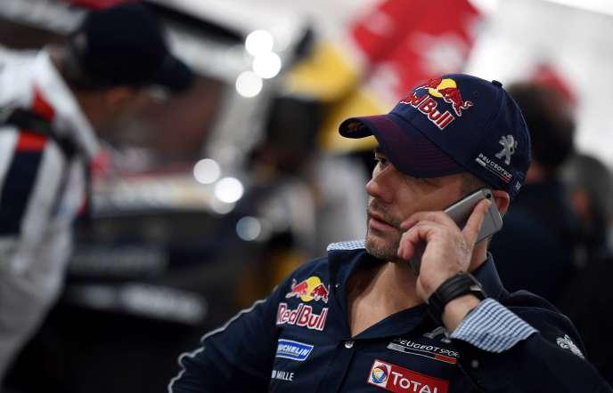 Sébastien Loeb, le 1er janvier à Buenos Aires.