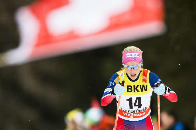 Therese Johaug a signé le 2janvier une septième victoire en Coupe du monde de ski de fond.