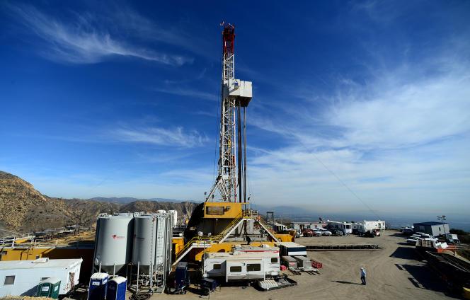 Un site gazier à Aliso Canyon, dans la banlieue de Porter Ranch. (Dean Musgrove/Los Angeles Daily News via AP, Pool, File)