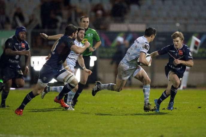 Mené à la pause, les Franciliens ont réussi à s'imposer face à Bordeaux-Bègles (23-18) et s'offrent la première place du classement.