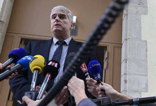 Alex Perrin, procureur de la République de Valence, le 2 janvier.