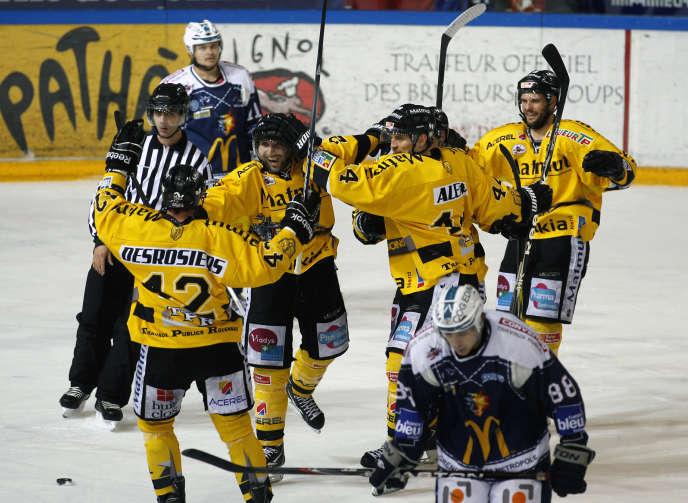 Rouen avait déjà vaincu Grenoble en finale. Ici en 2012.