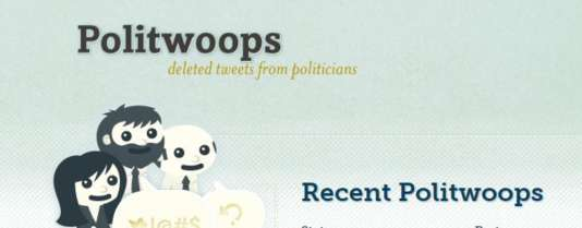 Le logo de Politwoops.