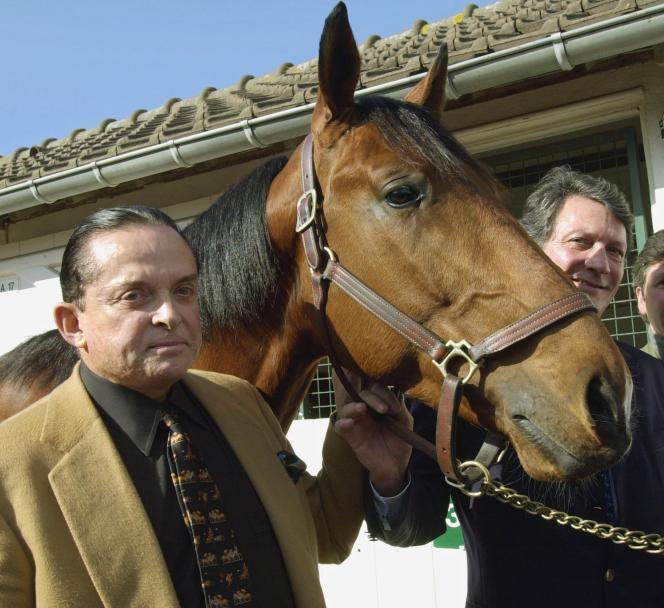 Alec Wildenstein à Deauville en 2002.