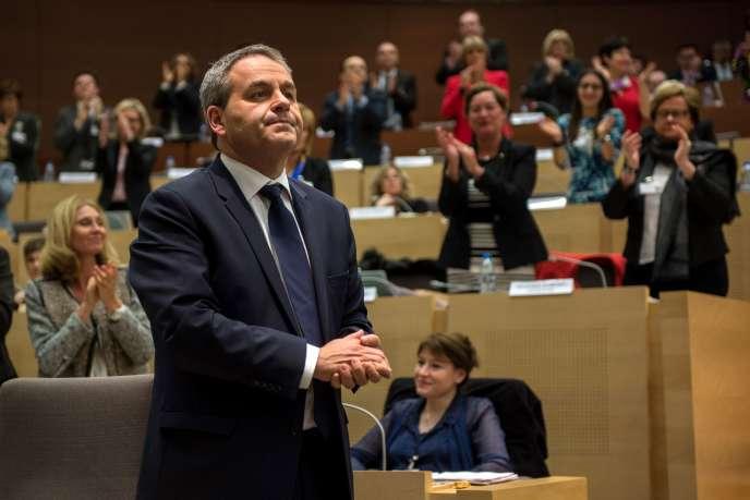 Xavier Bertrand (LR), élu lundi 4 janvier à la tête de la nouvelle grande région Nord-Pas-de-Calais-Picardie.
