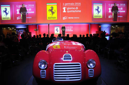 Sergio Marchionne, le patron de Fiat Chrysler Automobile (FCA), le 4 janvier, à Milan.