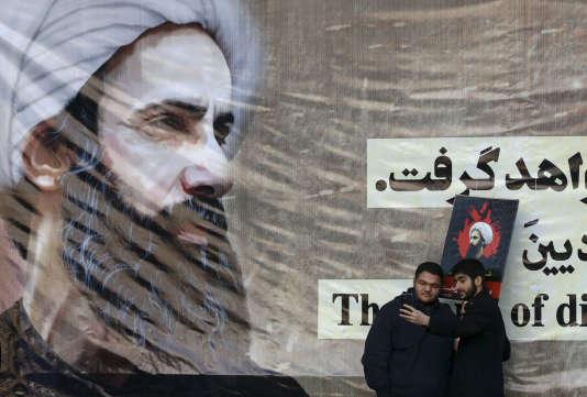Dans les rues de Téhéran, le 4 janvier.