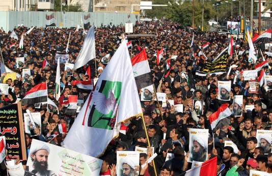 Manifestation à Bagdad, le 4 janvier.