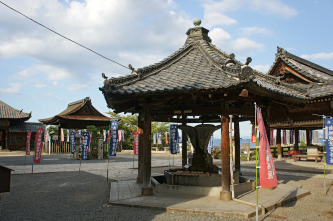 Un temple à Otsu, dans le centre du Japon, en septembre 2010.